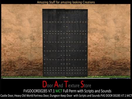 Dats Fvg Door D0285 V71 Mct Boxed